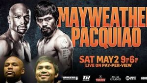 Boxing - 2015.05.02 - Floyd Mayweather, Jr. vs. Manny Pacquiao
